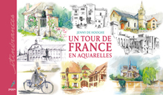 Tour en Ile-de-France en aquarelle